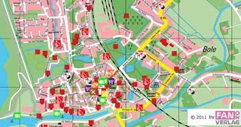 Stadplan