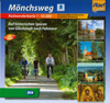 Cycling map Mönchsweg (Monks' Trail) (BVA)