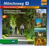 Cycling map Mönchsweg (Monks' Trail) (BVA)