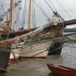 Gaffelschiffe im Außenhafen