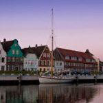 Hafen Sonnenuntergang