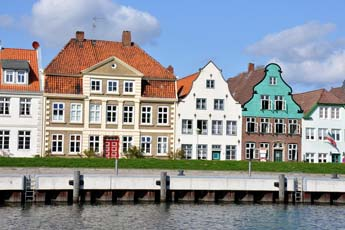 Historic town of Glückstadt – A view of the town