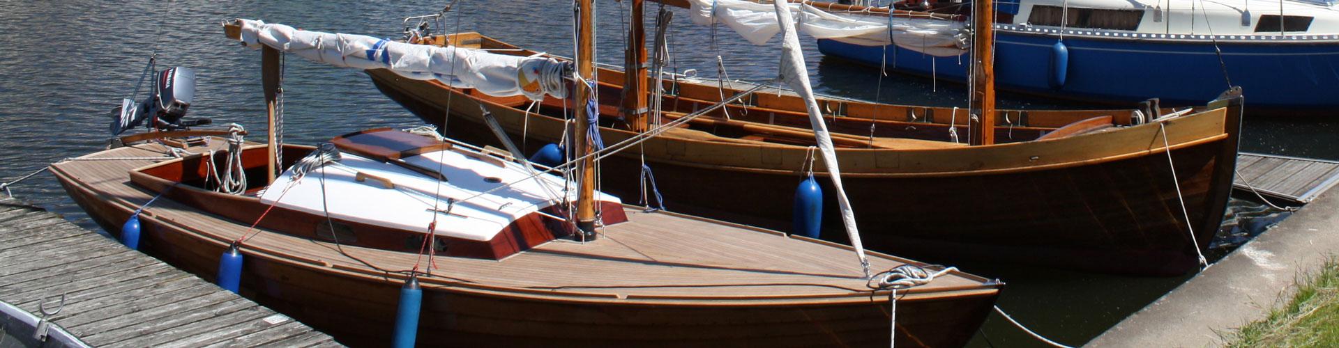 Boote in Glückstadt