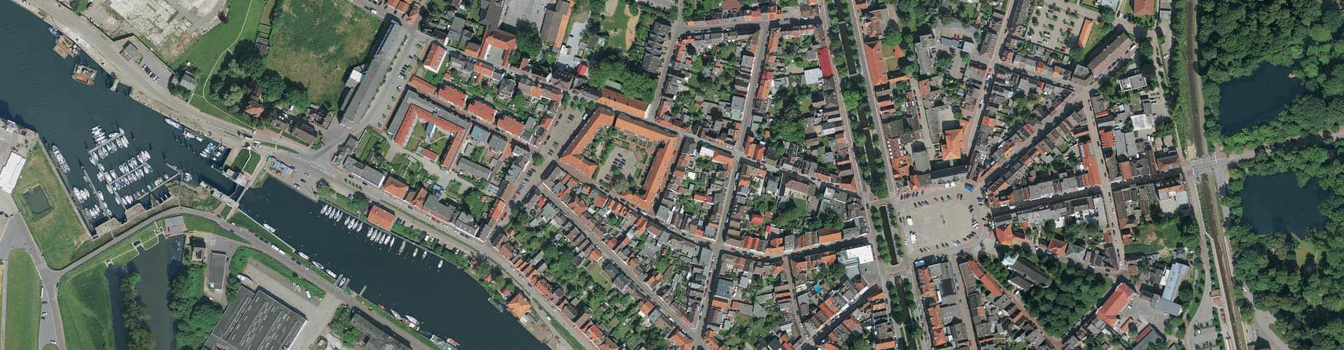 Stadtdenkmal Glückstadt – Stadtansicht