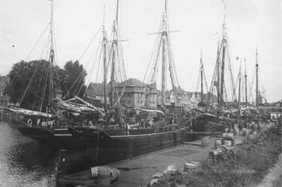 Matjeskunde - Schiffe im Hafen