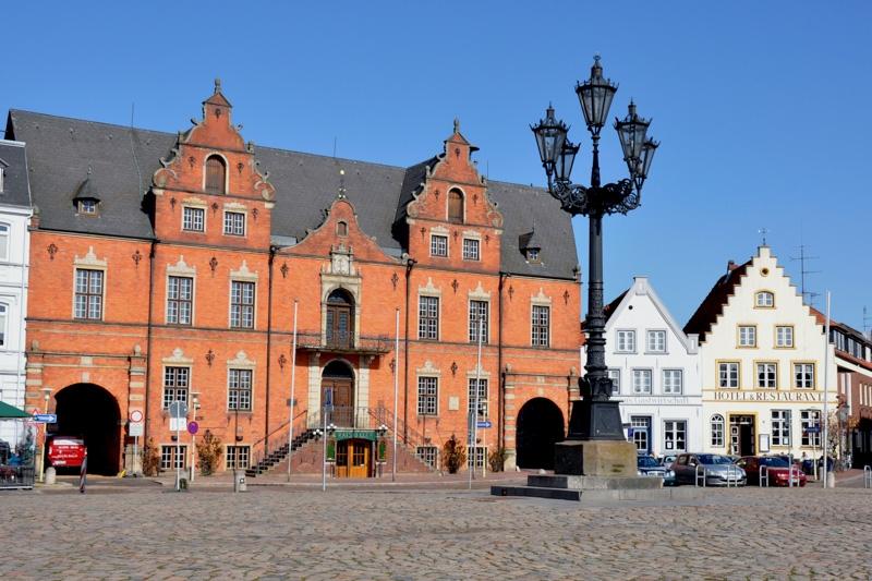 Rathaus in Glückstadt