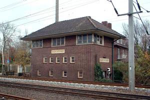Stellwerk, an der Christian-IV-Straße