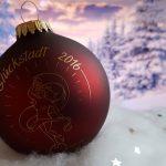Glückstädter Weihnachtskugel 2016 / © GDM GmbH