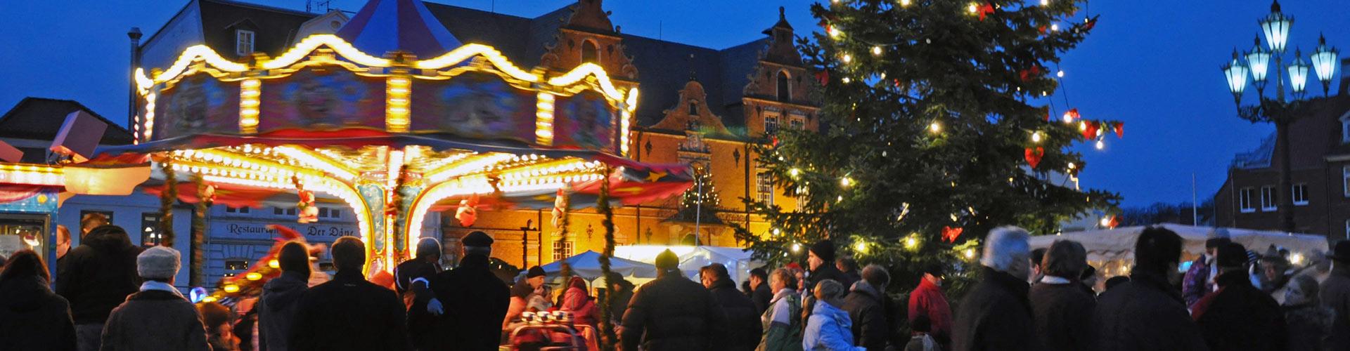 Weihnachtsmarkt in Glückstadt
