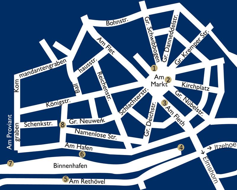 Stadtplan Fotopunkte