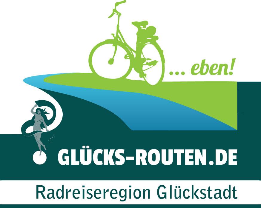 Radreiseregion Glückstadt Logo