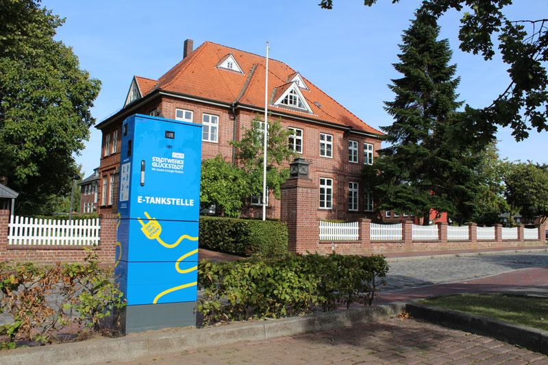 Lädesäule (c) Stadtwerke Glückstadt