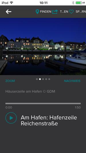Audiotour Beitrag Hafenzeile in Glückstadt