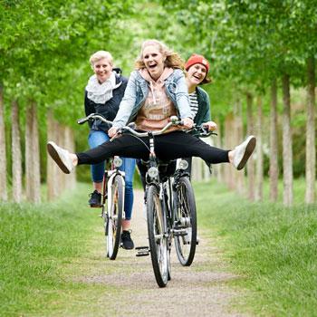 Radfahren auf den Glücks-Routen (c) GDM, Fotograf Kratz
