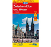 Cycling map Zwischen Elbe und Weser (Between Elbe and Weser) (BVA)