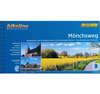Cycling map Mönchsweg (Monks' Trail) (bikeline)