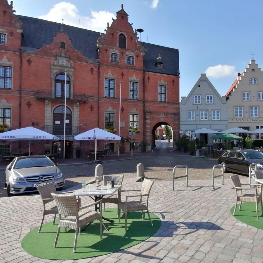 Außensitzplatz auf dem Marktplatz (c) GDM