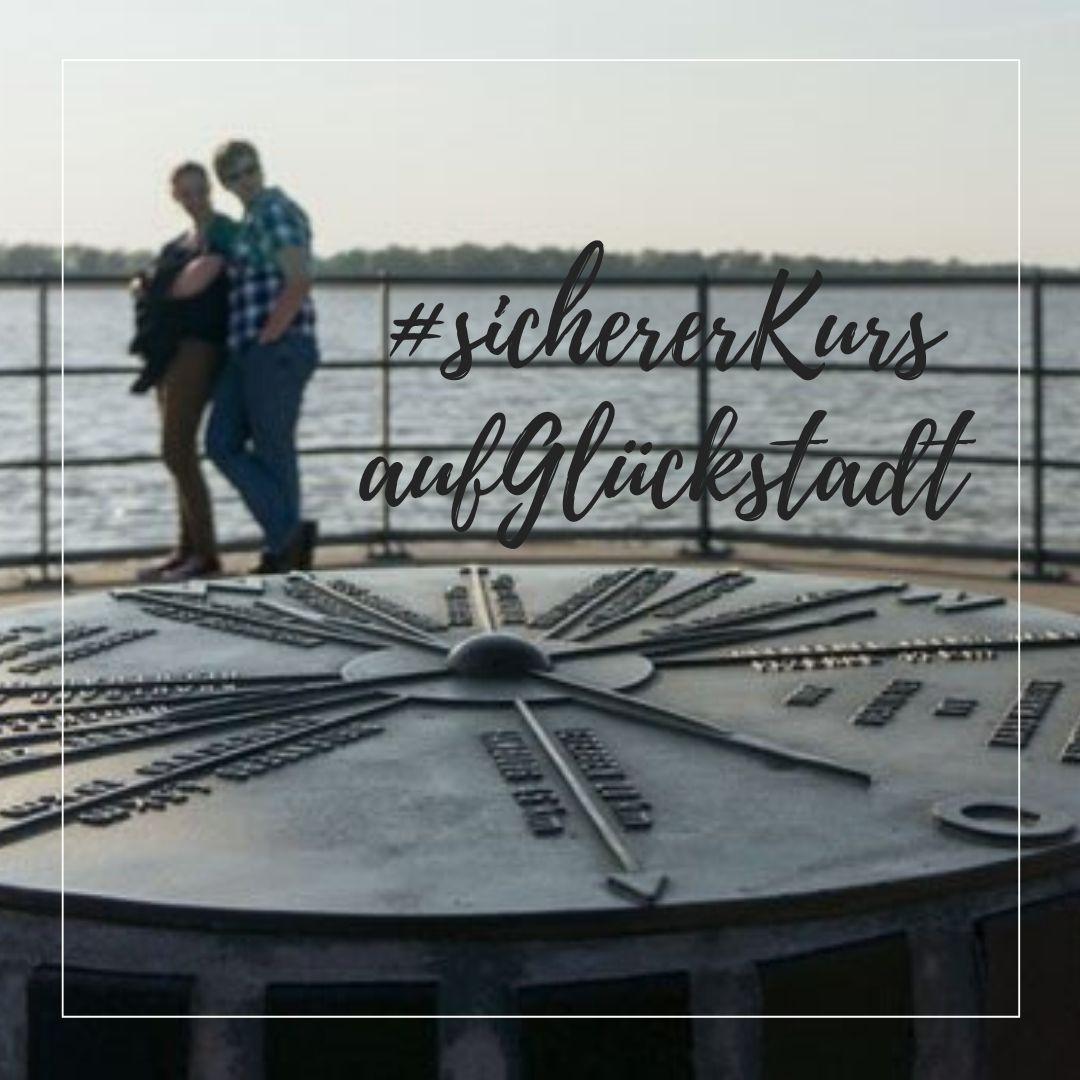 Sicherer Kurs auf Glückstadt (c) GDM
