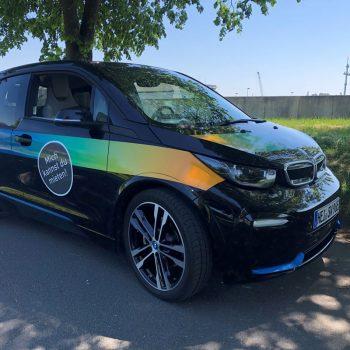 E-Auto BMW (c) Stadtwerke Steinburg